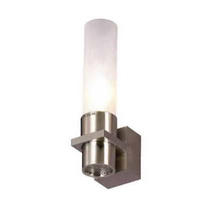 Светильник Lussole LSC-1601-01 Dorino никельСовременные<br>Настенно-потолочные светильники подходят как для установки на стены, так и для установки на потолок. Для установки настенно-потолочные светильники на натяжные потолки необходимо<br><br>S освещ. до, м2: 3<br>Тип лампы: накаливания / энергосбережения / LED-светодиодная<br>Тип цоколя: E14<br>Цвет арматуры: серый<br>Количество ламп: 1<br>Ширина, мм: 70<br>Расстояние от стены, мм: 100<br>Высота, мм: 200<br>Оттенок (цвет): белый<br>MAX мощность ламп, Вт: 40