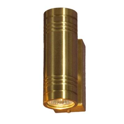 Светильник Lussole LSC-1801-02 Torricella золотоМодерн<br>Настенно-потолочные светильники подходят как для установки на стены, так и для установки на потолок. Для установки настенно-потолочные светильники на натяжные потолки необходимо<br><br>S освещ. до, м2: 7<br>Тип лампы: галогенная / LED-светодиодная<br>Тип цоколя: GU10<br>Количество ламп: 2<br>MAX мощность ламп, Вт: 50<br>Расстояние от стены, мм: 120<br>Высота, мм: 150<br>Цвет арматуры: золотой