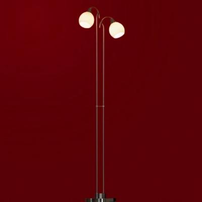 Торшер Lussole LSC-2605-02 PitigLiano никельМодерн<br><br><br>S освещ. до, м2: 6<br>Тип товара: Светильник напольный торшер<br>Тип лампы: накаливания / энергосбережения / LED-светодиодная<br>Тип цоколя: E14<br>Количество ламп: 2<br>Ширина, мм: 300<br>MAX мощность ламп, Вт: 40<br>Высота, мм: 1340<br>Цвет арматуры: серый
