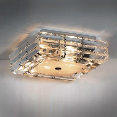 Люстра Lussole LSC-3207-06 Asti хромПотолочные<br>Ультрасовременный светильник LUSSOLE LSC-3207-06 ASTI станет идеальным решением для освещения помещения площадью от двенадцати до шестнадцати квадратных метров! «Многослойный» прозрачный плафон «дробит» лучи света, зрительно придавая светильнику объем и «воздушность», а стильная геометрическая форма позволит ему превосходно вписаться в любой минималистичный интерьер и стать в нем незаменимой деталью!<br><br>Установка на натяжной потолок: Ограничено<br>S освещ. до, м2: 16<br>Крепление: Планка<br>Тип лампы: накаливания / энергосбережения / LED-светодиодная<br>Тип цоколя: E14<br>Цвет арматуры: серебристый<br>Количество ламп: 6<br>Ширина, мм: 41<br>Расстояние от стены, мм: 15<br>MAX мощность ламп, Вт: 40