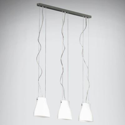 Светильник подвесной Lussole LSC-5606-03 BIANCOтройные подвесные светильники<br>Подвесной светильник – это универсальный вариант, подходящий для любой комнаты. Сегодня производители предлагают огромный выбор таких моделей по самым разным ценам. В каталоге интернет-магазина «Светодом» мы собрали большое количество интересных и оригинальных светильников по выгодной стоимости. Вы можете приобрести их в Москве, Екатеринбурге и любом другом городе России.  Подвесной светильник Lussole LSC-5606-03 сразу же привлечет внимание Ваших гостей благодаря стильному исполнению. Благородный дизайн позволит использовать эту модель практически в любом интерьере. Она обеспечит достаточно света и при этом легко монтируется. Чтобы купить подвесной светильник Lussole LSC-5606-03, воспользуйтесь формой на нашем сайте или позвоните менеджерам интернет-магазина.<br><br>S освещ. до, м2: 12<br>Тип лампы: накаливания / энергосбережения / LED-светодиодная<br>Тип цоколя: E14<br>Цвет арматуры: серый<br>Количество ламп: 3<br>Ширина, мм: 100<br>Длина, мм: 750<br>Высота, мм: 200-1200<br>Оттенок (цвет): белый<br>MAX мощность ламп, Вт: 40
