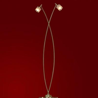 Торшер напольный Lussole LSC-6095-02 VITTORITOсовременные торшеры<br>Если Вы любите экспериментировать со своим интерьером, положительно относитесь ко всему новому и современному, то Вам наверняка придется по вкусу напольный светильник Lussole LSC-6095-02 Vittorito! Он кардинально отличается от привычных торшеров легкой, как будто стремящейся ввысь конструкцией, не отягощенной массивным абажуром и дополнительными элементами декора. Оригинальным решением дизайнеров Lussole стал золотой оттенок, который смотрится очень эффектно и несколько смягчает строгие линии светильника. Два плафона, направленные в разные стороны, создают яркое освещение на площади до 6 кв.м. Для того, чтобы интерьер выглядел стильным, гармоничным и цельным, рекомендуем приобретать торшер совместно с другими источниками света из серии: люстрой, настенными бра и настольной лампой.<br><br>S освещ. до, м2: 6<br>Тип лампы: галогенная / LED-светодиодная<br>Тип цоколя: G9<br>Цвет арматуры: золотой<br>Количество ламп: 2<br>Ширина, мм: 400<br>Высота, мм: 1400<br>Оттенок (цвет): белый<br>MAX мощность ламп, Вт: 40