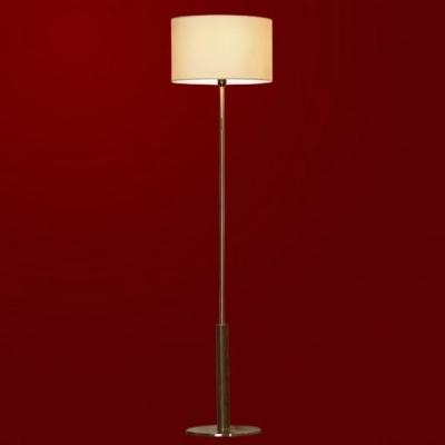 Торшер Lussole LSC-7115-01 Silvi никельС абажуром<br>LSC-7115-01<br><br>S освещ. до, м2: 4<br>Тип лампы: накаливания / энергосбережения / LED-светодиодная<br>Тип цоколя: E27<br>Цвет арматуры: серый<br>Количество ламп: 1<br>Диаметр, мм мм: 400<br>Высота, мм: 1570<br>Оттенок (цвет): лен<br>MAX мощность ламп, Вт: 60
