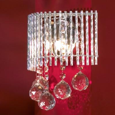 Светильник Lussole lsc-8401-02Хрустальные<br>В интернет-магазине «Светодом» представлен широкий выбор настенных бра по привлекательной цене. Это качественные товары от популярных мировых производителей. Благодаря большому ассортименту Вы обязательно подберете под свой интерьер наиболее подходящий вариант.  Оригинальное настенное бра Lussole LSC-8401-02 можно использовать для освещения не только гостиной, но и прихожей или спальни. Модель выполнена из современных материалов, поэтому прослужит на протяжении долгого времени. Обратите внимание на технические характеристики, чтобы сделать правильный выбор.  Чтобы купить настенное бра Lussole LSC-8401-02 в нашем интернет-магазине, воспользуйтесь «Корзиной» или позвоните менеджерам компании «Светодом» по указанным на сайте номерам. Мы доставляем заказы по Москве, Екатеринбургу и другим российским городам.<br><br>S освещ. до, м2: 6<br>Тип лампы: галогенная / LED-светодиодная<br>Тип цоколя: G9<br>Количество ламп: 2<br>Ширина, мм: 110<br>MAX мощность ламп, Вт: 40<br>Длина, мм: 210<br>Высота, мм: 230<br>Цвет арматуры: серебристый