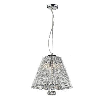 Люстра Lussole lsc-8406-06Подвесные<br>Подвесной светильник Lussole lsc-8406-06 создаст в комнате неповторимую, наполненную красотой и изысканностью, обстановку и станет настоящим украшением Вашего интерьера! Плафон полностью выполнен из хрусталя, и лучи, попадая на множество граней, отражаются в них и создают уникальное, «искрящееся» освещение. Эту люстру можно использовать в любой цветовой гамме комнаты - она будет прекрасно гармонировать и с яркими и с пастельными тонами. Наиболее выигрышно и эффектно светильник впишется в комнату площадью до 16 кв.м. и с высоким потолком.<br><br>Установка на натяжной потолок: Да<br>S освещ. до, м2: 16<br>Крепление: Планка<br>Тип лампы: галогенная / LED-светодиодная<br>Тип цоколя: G9<br>Количество ламп: 6<br>MAX мощность ламп, Вт: 40<br>Диаметр, мм мм: 410<br>Высота, мм: 1100<br>Цвет арматуры: серебристый
