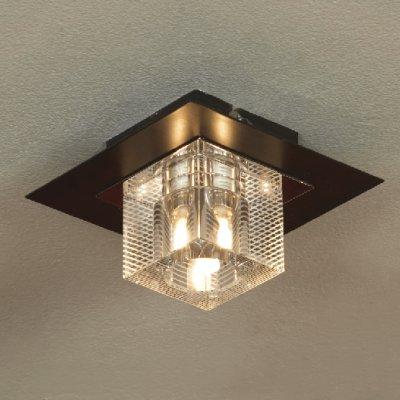 Светильник Lussole LSF-1307-01 Notte Di Luna хромПотолочные<br>Этот светильник по форме аналогичен светильнику LUSSOLE LSF-1300-01 NOTTE DI LUNA, отличается только более светлым оттенком потолочного крепления. Он очень удобен для использования в подвесных потолках, а также для освещения рабочих поверхностей, например, на кухне. Кроме того, во многих современных стилях интерьеров чаще всего не используются для освещения потолочные люстры, а свет создается с помощью встраиваемых светильников.<br><br>Установка на натяжной потолок: Ограничено<br>S освещ. до, м2: 3<br>Крепление: Планка<br>Тип лампы: галогенная / LED-светодиодная<br>Тип цоколя: G9<br>Количество ламп: 1<br>Ширина, мм: 130<br>MAX мощность ламп, Вт: 40<br>Длина, мм: 130<br>Высота, мм: 80<br>Оттенок (цвет): белый<br>Цвет арматуры: серебристый