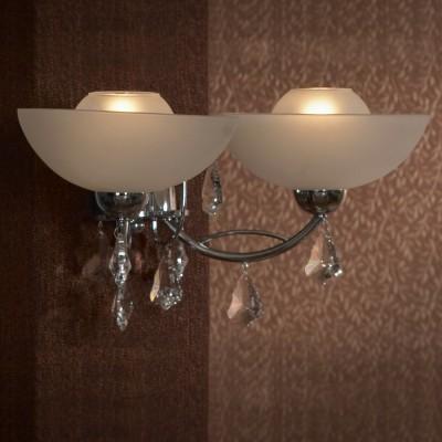 Светильник Lussole lsf-1501-02Хрустальные<br>В интернет-магазине «Светодом» представлен широкий выбор настенных бра по привлекательной цене. Это качественные товары от популярных мировых производителей. Благодаря большому ассортименту Вы обязательно подберете под свой интерьер наиболее подходящий вариант.  Оригинальное настенное бра Lussole LSF-1501-02 можно использовать для освещения не только гостиной, но и прихожей или спальни. Модель выполнена из современных материалов, поэтому прослужит на протяжении долгого времени. Обратите внимание на технические характеристики, чтобы сделать правильный выбор.  Чтобы купить настенное бра Lussole LSF-1501-02 в нашем интернет-магазине, воспользуйтесь «Корзиной» или позвоните менеджерам компании «Светодом» по указанным на сайте номерам. Мы доставляем заказы по Москве, Екатеринбургу и другим российским городам.<br><br>S освещ. до, м2: 6<br>Тип лампы: накаливания / энергосбережения / LED-светодиодная<br>Тип цоколя: E14<br>Количество ламп: 2<br>Ширина, мм: 220<br>MAX мощность ламп, Вт: 40<br>Длина, мм: 420<br>Высота, мм: 210<br>Цвет арматуры: серебристый