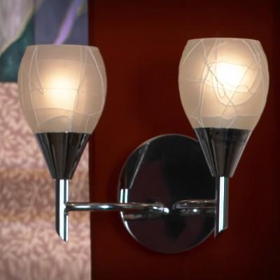 Светильник Lussole lsf-1801-02Тиффани<br>В интернет-магазине «Светодом» представлен широкий выбор настенных бра по привлекательной цене. Это качественные товары от популярных мировых производителей. Благодаря большому ассортименту Вы обязательно подберете под свой интерьер наиболее подходящий вариант.  Оригинальное настенное бра Lussole LSF-1801-02 можно использовать для освещения не только гостиной, но и прихожей или спальни. Модель выполнена из современных материалов, поэтому прослужит на протяжении долгого времени. Обратите внимание на технические характеристики, чтобы сделать правильный выбор.  Чтобы купить настенное бра Lussole LSF-1801-02 в нашем интернет-магазине, воспользуйтесь «Корзиной» или позвоните менеджерам компании «Светодом» по указанным на сайте номерам. Мы доставляем заказы по Москве, Екатеринбургу и другим российским городам.<br><br>S освещ. до, м2: 6<br>Тип лампы: накаливания / энергосбережения / LED-светодиодная<br>Тип цоколя: E14<br>Количество ламп: 2<br>Ширина, мм: 150<br>MAX мощность ламп, Вт: 40<br>Длина, мм: 270<br>Высота, мм: 200<br>Цвет арматуры: серебристый