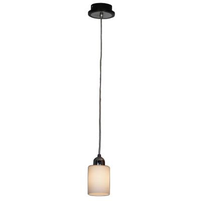 Люстра подвесная Lussole LSF-6106-01 CAPRILEодиночные подвесные светильники<br>Подвесной светильник – это универсальный вариант, подходящий для любой комнаты. Сегодня производители предлагают огромный выбор таких моделей по самым разным ценам. В каталоге интернет-магазина «Светодом» мы собрали большое количество интересных и оригинальных светильников по выгодной стоимости. Вы можете приобрести их в Москве, Екатеринбурге и любом другом городе России.  Подвесной светильник Lussole LSF-6106-01 сразу же привлечет внимание Ваших гостей благодаря стильному исполнению. Благородный дизайн позволит использовать эту модель практически в любом интерьере. Она обеспечит достаточно света и при этом легко монтируется. Чтобы купить подвесной светильник Lussole LSF-6106-01, воспользуйтесь формой на нашем сайте или позвоните менеджерам интернет-магазина.<br><br>S освещ. до, м2: 3<br>Крепление: накладной<br>Тип лампы: накаливания / энергосбережения / LED-светодиодная<br>Тип цоколя: E14<br>Цвет арматуры: серебристый<br>Количество ламп: 1<br>Диаметр, мм мм: 100<br>Высота, мм: 1100<br>MAX мощность ламп, Вт: 40