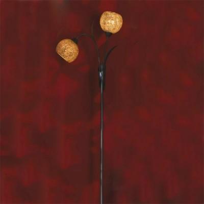 Торшер Lussole LSF-6205-02 BagheriaДекоративные<br>Яркий, запоминающийся торшер Lussole LSF-6205-02 Bagheria в стиле «тиффани» внесет в Ваш интерьер неповторимую красоту, «шарм» и атмосферу, наполненную уютом и очарованием! Напоминающий цветущее деревце с круглыми плафонами – «бутонами», он выглядит эффектно и современно. Оригинальное расположение плафонов очень удобно и функционально, т.к. одновременно создается направленная подсветка «нижней» области комнаты (например, кресла с журнальным столиком) и «средней» части. Такой торшер может стать как дополнением к комнате, выполненной в «холодных» цветах – серых, белых, синих, так и оригинальным акцентом в помещении в «теплых» оттенках – красных, золотых.<br><br>S освещ. до, м2: 6<br>Тип лампы: накаливания / энергосбережения / LED-светодиодная<br>Тип цоколя: E14<br>Количество ламп: 2<br>Ширина, мм: 220<br>MAX мощность ламп, Вт: 40<br>Длина, мм: 400<br>Высота, мм: 1420<br>Цвет арматуры: коричневый