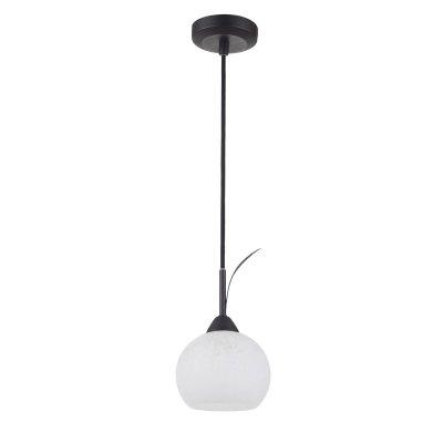Светильник Lussole lsf-6296-01Подвесные<br>Для создания направленного освещения площади до 3 кв.м. с высоким потолком рекомендуем обратить Ваше внимание на подвесной светильник Lussole LSF-6296-01 Bagheria в стиле «тиффани». Если Вы оформляете интерьер в стиле «флористика», или просто хотите внести в него «природные» мотивы, то этот источник света легко справится с поставленными задачами! Конструкция выполнена без «утяжеляющих» декоративных элементов, поэтому не будет «перегружать» и без того небольшое пространство. Стильное сочетание черного и белого оттенков выглядит эффектно и броско. А чтобы интерьер стал уютным, «цельным» и совершенным, используйте в нем настенные бра, настольную лампу и торшер из этой же серии.<br><br>Установка на натяжной потолок: Да<br>S освещ. до, м2: 3<br>Крепление: Планка<br>Тип лампы: накаливания / энергосбережения / LED-светодиодная<br>Тип цоколя: E14<br>Количество ламп: 1<br>MAX мощность ламп, Вт: 40<br>Диаметр, мм мм: 140<br>Высота, мм: 1450<br>Цвет арматуры: коричневый