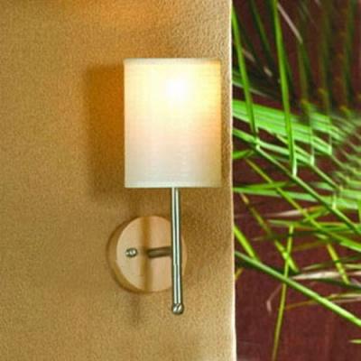Светильник Lussole LSF-8601-01 Bellona букПлетеные из ротанга<br>LSF-8601-01<br><br>S освещ. до, м2: 3<br>Тип лампы: накаливания / энергосбережения / LED-светодиодная<br>Тип цоколя: E14<br>Цвет арматуры: серый<br>Количество ламп: 1<br>Ширина, мм: 120<br>Расстояние от стены, мм: 180<br>Высота, мм: 330<br>Оттенок (цвет): лен<br>MAX мощность ламп, Вт: 40