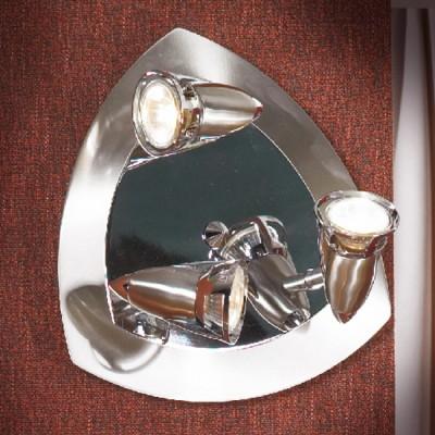 Люстра Lussole LSL-0617-03 Trenno никельПоворотные<br>LSL-0617-03<br><br>Установка на натяжной потолок: Ограничено<br>S освещ. до, м2: 10<br>Крепление: Планка<br>Тип лампы: галогенная / LED-светодиодная<br>Тип цоколя: GU10<br>Количество ламп: 3<br>MAX мощность ламп, Вт: 50<br>Диаметр, мм мм: 280<br>Расстояние от стены, мм: 140<br>Цвет арматуры: серый