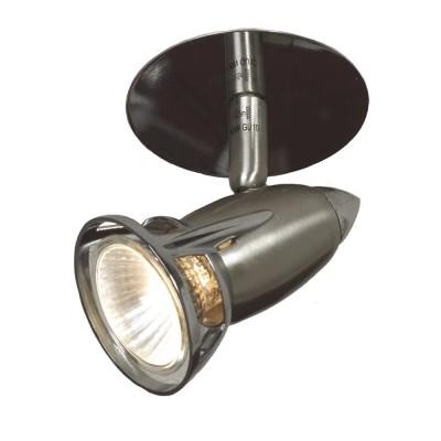 Светильник Lussole LSL-0680-01 Trenno никельНа ножке<br>Встраиваемые светильники – популярное осветительное оборудование, которое можно использовать в качестве основного источника или в дополнение к люстре. Они позволяют создать нужную атмосферу атмосферу и привнести в интерьер уют и комфорт.   Интернет-магазин «Светодом» предлагает стильный встраиваемый светильник Lussole LSL-0680-01. Данная модель достаточно универсальна, поэтому подойдет практически под любой интерьер. Перед покупкой не забудьте ознакомиться с техническими параметрами, чтобы узнать тип цоколя, площадь освещения и другие важные характеристики.   Приобрести встраиваемый светильник Lussole LSL-0680-01 в нашем онлайн-магазине Вы можете либо с помощью «Корзины», либо по контактным номерам. Мы развозим заказы по Москве, Екатеринбургу и остальным российским городам.<br><br>S освещ. до, м2: 4<br>Тип лампы: галогенная<br>Тип цоколя: gu10<br>Количество ламп: 1<br>Ширина, мм: 80<br>MAX мощность ламп, Вт: 50<br>Расстояние от стены, мм: 110<br>Высота, мм: 100<br>Цвет арматуры: серебристый