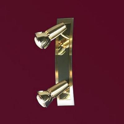 Светильник Lussole LSL-1401-02 Aprilia золотоДвойные<br>Светильники-споты – это оригинальные изделия с современным дизайном. Они позволяют не ограничивать свою фантазию при выборе освещения для интерьера. Такие модели обеспечивают достаточно качественный свет. Благодаря компактным размерам Вы можете использовать несколько спотов для одного помещения.  Интернет-магазин «Светодом» предлагает необычный светильник-спот Lussole LSL-1401-02 по привлекательной цене. Эта модель станет отличным дополнением к люстре, выполненной в том же стиле. Перед оформлением заказа изучите характеристики изделия.  Купить светильник-спот Lussole LSL-1401-02 в нашем онлайн-магазине Вы можете либо с помощью формы на сайте, либо по указанным выше телефонам. Обратите внимание, что у нас склады не только в Москве и Екатеринбурге, но и других городах России.<br><br>S освещ. до, м2: 6<br>Тип лампы: накал-я - энергосбер-я/LED R72<br>Тип цоколя: R50<br>Количество ламп: 2<br>Ширина, мм: 60<br>MAX мощность ламп, Вт: 40<br>Расстояние от стены, мм: 130<br>Высота, мм: 290<br>Цвет арматуры: золотой