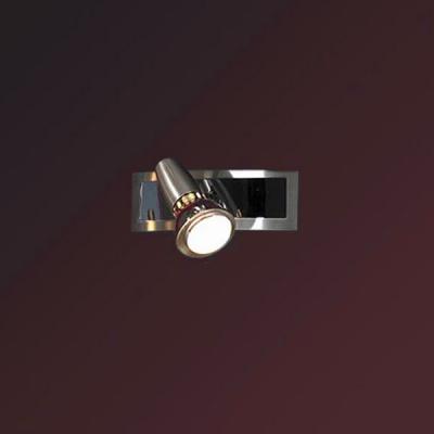 Светильник Lussole LSL-1491-01 Aprilia никельОдиночные<br>Светильники-споты – это оригинальные изделия с современным дизайном. Они позволяют не ограничивать свою фантазию при выборе освещения для интерьера. Такие модели обеспечивают достаточно качественный свет. Благодаря компактным размерам Вы можете использовать несколько спотов для одного помещения. <br>Интернет-магазин «Светодом» предлагает необычный светильник-спот Lussole LSL-1491-01 по привлекательной цене. Эта модель станет отличным дополнением к люстре, выполненной в том же стиле. Перед оформлением заказа изучите характеристики изделия. <br>Купить светильник-спот Lussole LSL-1491-01 в нашем онлайн-магазине Вы можете либо с помощью формы на сайте, либо по указанным выше телефонам. Обратите внимание, что у нас склады не только в Москве и Екатеринбурге, но и других городах России.<br><br>S освещ. до, м2: 3<br>Тип лампы: накал-я - энергосбер-я/LED R76<br>Тип цоколя: R50<br>Цвет арматуры: серый<br>Количество ламп: 1<br>Ширина, мм: 60<br>Расстояние от стены, мм: 130<br>Высота, мм: 180<br>MAX мощность ламп, Вт: 40