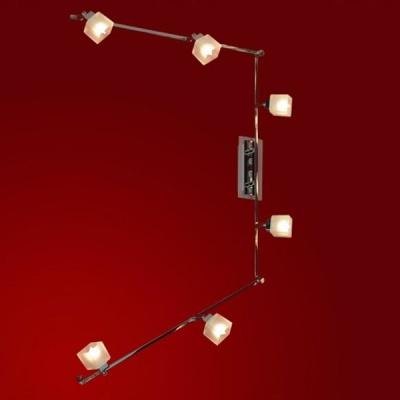 Светильник Lussole LSL-2109-06 Secinaro хромБолее 5 ламп<br>Светильники-споты – это оригинальные изделия с современным дизайном. Они позволяют не ограничивать свою фантазию при выборе освещения для интерьера. Такие модели обеспечивают достаточно качественный свет. Благодаря компактным размерам Вы можете использовать несколько спотов для одного помещения.  Интернет-магазин «Светодом» предлагает необычный светильник-спот Lussole LSL-2109-06 по привлекательной цене. Эта модель станет отличным дополнением к люстре, выполненной в том же стиле. Перед оформлением заказа изучите характеристики изделия.  Купить светильник-спот Lussole LSL-2109-06 в нашем онлайн-магазине Вы можете либо с помощью формы на сайте, либо по указанным выше телефонам. Обратите внимание, что у нас склады не только в Москве и Екатеринбурге, но и других городах России.<br><br>S освещ. до, м2: 16<br>Тип лампы: галогенная / LED-светодиодная<br>Тип цоколя: G9<br>Количество ламп: 6<br>Ширина, мм: 70<br>MAX мощность ламп, Вт: 40<br>Расстояние от стены, мм: 180<br>Высота, мм: 1900<br>Оттенок (цвет): белый<br>Цвет арматуры: серебристый