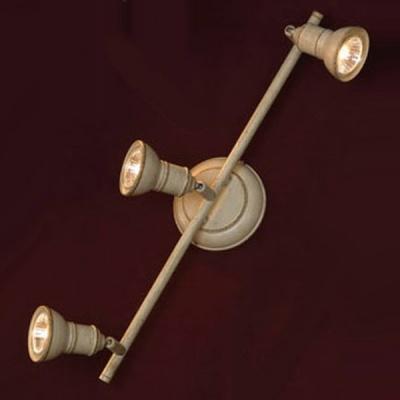 Светильник Lussole LSL-2501-03 Sobretta стилизованный гипсТройные<br>Светильники-споты – это оригинальные изделия с современным дизайном. Они позволяют не ограничивать свою фантазию при выборе освещения для интерьера. Такие модели обеспечивают достаточно качественный свет. Благодаря компактным размерам Вы можете использовать несколько спотов для одного помещения.  Интернет-магазин «Светодом» предлагает необычный светильник-спот Lussole LSL-2501-03 по привлекательной цене. Эта модель станет отличным дополнением к люстре, выполненной в том же стиле. Перед оформлением заказа изучите характеристики изделия.  Купить светильник-спот Lussole LSL-2501-03 в нашем онлайн-магазине Вы можете либо с помощью формы на сайте, либо по указанным выше телефонам. Обратите внимание, что у нас склады не только в Москве и Екатеринбурге, но и других городах России.<br><br>S освещ. до, м2: 10<br>Тип лампы: галогенная / LED-светодиодная<br>Тип цоколя: GU10<br>Количество ламп: 3<br>Ширина, мм: 15<br>MAX мощность ламп, Вт: 50<br>Длина, мм: 48<br>Расстояние от стены, мм: 14<br>Цвет арматуры: белый