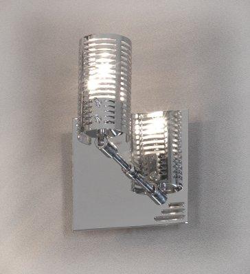 Светильник поворотный спот Lussole LSL-5601-01 CARPENARAсовременные бра модерн<br>Этот светильник воплотил в себе все элементы стиля «хай-тек»!  Минималистичная конструкция в сочетании со строгим «металлическим» цветом и прямыми линиями великолепно впишутся в любой современный интерьер. Кроме того, благодаря поворотному механизму-споту, вы сможете направлять луч света именно в ту зону, которую необходимо. Светильник можно использовать как совместно с другими светильниками этой серии, так и отдельно, он будет выделяться в любом варианте!<br><br>S освещ. до, м2: 3<br>Тип лампы: галогенная / LED-светодиодная<br>Тип цоколя: G9<br>Цвет арматуры: серебристый хром<br>Количество ламп: 1<br>Ширина, мм: 100<br>Расстояние от стены, мм: 130<br>Высота, мм: 100<br>MAX мощность ламп, Вт: 40