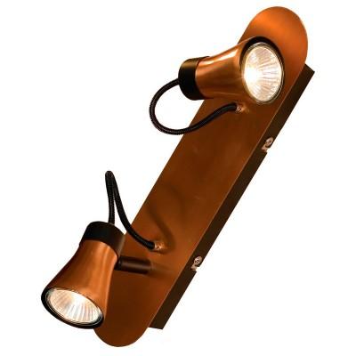 Светильник Lussole LSL-6801-02двойные светильники споты<br>Светильники-споты – это оригинальные изделия с современным дизайном. Они позволяют не ограничивать свою фантазию при выборе освещения для интерьера. Такие модели обеспечивают достаточно качественный свет. Благодаря компактным размерам Вы можете использовать несколько спотов для одного помещения.  Интернет-магазин «Светодом» предлагает необычный светильник-спот Loft LSL-6801-02 по привлекательной цене. Эта модель станет отличным дополнением к люстре, выполненной в том же стиле. Перед оформлением заказа изучите характеристики изделия.  Купить светильник-спот Loft LSL-6801-02 в нашем онлайн-магазине Вы можете либо с помощью формы на сайте, либо по указанным выше телефонам. Обратите внимание, что у нас склады не только в Москве и Екатеринбурге, но и других городах России.<br><br>S освещ. до, м2: 5<br>Тип лампы: галогенная/LED<br>Тип цоколя: GU10<br>Цвет арматуры: черный<br>Количество ламп: 2<br>Ширина, мм: 330<br>Расстояние от стены, мм: 160<br>Высота, мм: 100<br>MAX мощность ламп, Вт: 50