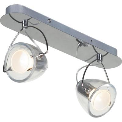 Светильник Lussole LSL-6901-02Двойные<br>Светильники-споты – это оригинальные изделия с современным дизайном. Они позволяют не ограничивать свою фантазию при выборе освещения для интерьера. Такие модели обеспечивают достаточно качественный свет. Благодаря компактным размерам Вы можете использовать несколько спотов для одного помещения.  Интернет-магазин «Светодом» предлагает необычный светильник-спот Lussole LSL-6901-02 по привлекательной цене. Эта модель станет отличным дополнением к люстре, выполненной в том же стиле. Перед оформлением заказа изучите характеристики изделия.  Купить светильник-спот Lussole LSL-6901-02 в нашем онлайн-магазине Вы можете либо с помощью формы на сайте, либо по указанным выше телефонам. Обратите внимание, что у нас склады не только в Москве и Екатеринбурге, но и других городах России.<br><br>S освещ. до, м2: 6<br>Тип лампы: накал-я - энергосбер-я<br>Тип цоколя: Gu10<br>Количество ламп: 2<br>Ширина, мм: 410<br>MAX мощность ламп, Вт: 50<br>Расстояние от стены, мм: 160<br>Высота, мм: 110