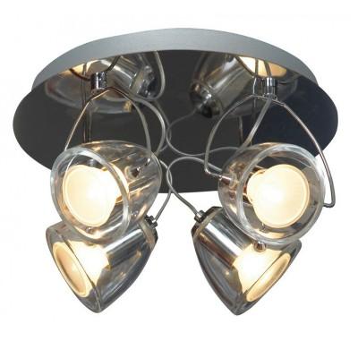 Светильник Lussole LSL-6901-04С 4 лампами<br>Светильники-споты – это оригинальные изделия с современным дизайном. Они позволяют не ограничивать свою фантазию при выборе освещения для интерьера. Такие модели обеспечивают достаточно качественный свет. Благодаря компактным размерам Вы можете использовать несколько спотов для одного помещения. <br>Интернет-магазин «Светодом» предлагает необычный светильник-спот Lussole LSL-6901-04 по привлекательной цене. Эта модель станет отличным дополнением к люстре, выполненной в том же стиле. Перед оформлением заказа изучите характеристики изделия. <br>Купить светильник-спот Lussole LSL-6901-04 в нашем онлайн-магазине Вы можете либо с помощью формы на сайте, либо по указанным выше телефонам. Обратите внимание, что у нас склады не только в Москве и Екатеринбурге, но и других городах России.<br><br>S освещ. до, м2: 13<br>Тип лампы: галогенная / LED-светодиодная<br>Тип цоколя: Gu10<br>Количество ламп: 4<br>MAX мощность ламп, Вт: 50<br>Диаметр, мм мм: 250<br>Высота, мм: 160