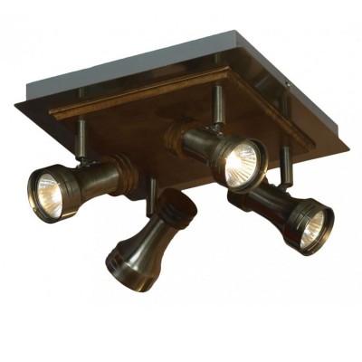 Светильник поворотный спот Lussole LSL-7101-04 NOVARAС 4 лампами<br>Светильники-споты – это оригинальные изделия с современным дизайном. Они позволяют не ограничивать свою фантазию при выборе освещения для интерьера. Такие модели обеспечивают достаточно качественный свет. Благодаря компактным размерам Вы можете использовать несколько спотов для одного помещения.  Интернет-магазин «Светодом» предлагает необычный светильник-спот Lussole LSL-7101-04 по привлекательной цене. Эта модель станет отличным дополнением к люстре, выполненной в том же стиле. Перед оформлением заказа изучите характеристики изделия.  Купить светильник-спот Lussole LSL-7101-04 в нашем онлайн-магазине Вы можете либо с помощью формы на сайте, либо по указанным выше телефонам. Обратите внимание, что у нас склады не только в Москве и Екатеринбурге, но и других городах России.<br><br>S освещ. до, м2: 13<br>Тип лампы: галогенная / LED-светодиодная<br>Тип цоколя: Gu10<br>Количество ламп: 4<br>Ширина, мм: 250<br>Длина, мм: 250<br>Высота, мм: 140<br>MAX мощность ламп, Вт: 50