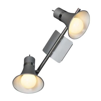 Светильник Lussole LSL-7201-02Двойные<br>Светильники-споты – это оригинальные изделия с современным дизайном. Они позволяют не ограничивать свою фантазию при выборе освещения для интерьера. Такие модели обеспечивают достаточно качественный свет. Благодаря компактным размерам Вы можете использовать несколько спотов для одного помещения. <br>Интернет-магазин «Светодом» предлагает необычный светильник-спот Lussole LSL-7201-02 по привлекательной цене. Эта модель станет отличным дополнением к люстре, выполненной в том же стиле. Перед оформлением заказа изучите характеристики изделия. <br>Купить светильник-спот Lussole LSL-7201-02 в нашем онлайн-магазине Вы можете либо с помощью формы на сайте, либо по указанным выше телефонам. Обратите внимание, что у нас склады не только в Москве и Екатеринбурге, но и других городах России.<br><br>S освещ. до, м2: 8<br>Тип лампы: накал-я - энергосбер-я<br>Тип цоколя: E27<br>Количество ламп: 2<br>Ширина, мм: 360<br>Расстояние от стены, мм: 190<br>Высота, мм: 150<br>MAX мощность ламп, Вт: 60