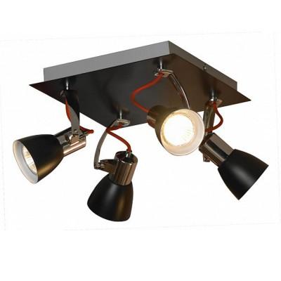Светильник поворотный спот Lussole LSL-7401-04 FRONTINOспоты 4 лампы<br>Светильники-споты – это оригинальные изделия с современным дизайном. Они позволяют не ограничивать свою фантазию при выборе освещения для интерьера. Такие модели обеспечивают достаточно качественный свет. Благодаря компактным размерам Вы можете использовать несколько спотов для одного помещения. <br>Интернет-магазин «Светодом» предлагает необычный светильник-спот Lussole LSL-7401-04 по привлекательной цене. Эта модель станет отличным дополнением к люстре, выполненной в том же стиле. Перед оформлением заказа изучите характеристики изделия. <br>Купить светильник-спот Lussole LSL-7401-04 в нашем онлайн-магазине Вы можете либо с помощью формы на сайте, либо по указанным выше телефонам. Обратите внимание, что у нас склады не только в Москве и Екатеринбурге, но и других городах России.<br><br>S освещ. до, м2: 13<br>Тип лампы: галогенная / LED-светодиодная<br>Тип цоколя: GU10<br>Количество ламп: 4<br>Ширина, мм: 230<br>Длина, мм: 230<br>Высота, мм: 170<br>MAX мощность ламп, Вт: 50