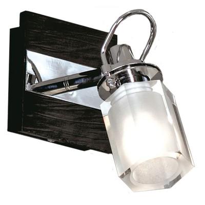 Светильник поворотный спот Lussole LSL-7901-01 ABRUZZIодиночные споты<br>Светильник LUSSOLE LSL-7901-01 ABRUZZI хром Если вы хотите осветить конкретную небольшую зону, например, зеркало или стеклянную полку, то этот настенный светильник будет идеальным для вас решением. Благодаря способности плафона поворачиваться в нескольких направлениях, можно менять и регулировать степень освещения, делая его ярким либо мягким и рассеянным. Современная форма и сочетание цветов позволяют поместить светильник в интерьер в стиле хай-тек и модерн.