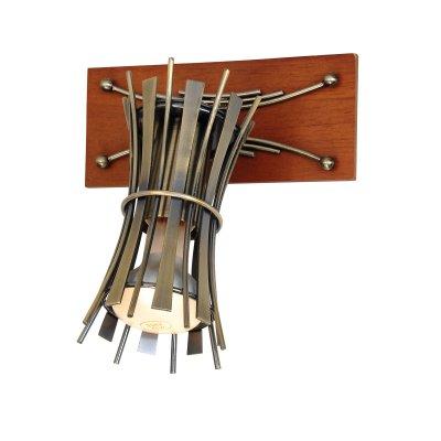 Светильник Lussole lsl-8401-01Одиночные<br>Светильники-споты – это оригинальные изделия с современным дизайном. Они позволяют не ограничивать свою фантазию при выборе освещения для интерьера. Такие модели обеспечивают достаточно качественный свет. Благодаря компактным размерам Вы можете использовать несколько спотов для одного помещения.  Интернет-магазин «Светодом» предлагает необычный светильник-спот Lussole LSL-8401-01 по привлекательной цене. Эта модель станет отличным дополнением к люстре, выполненной в том же стиле. Перед оформлением заказа изучите характеристики изделия.  Купить светильник-спот Lussole LSL-8401-01 в нашем онлайн-магазине Вы можете либо с помощью формы на сайте, либо по указанным выше телефонам. Обратите внимание, что у нас склады не только в Москве и Екатеринбурге, но и других городах России.<br><br>S освещ. до, м2: 3<br>Тип лампы: накал-я - энергосбер-я/LED R68<br>Тип цоколя: R50<br>Количество ламп: 1<br>Ширина, мм: 70<br>MAX мощность ламп, Вт: 40<br>Расстояние от стены, мм: 200<br>Высота, мм: 160<br>Цвет арматуры: бронзовый