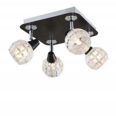 Светильник Lussole lsl-8601-04С 4 лампами<br>Светильники-споты – это оригинальные изделия с современным дизайном. Они позволяют не ограничивать свою фантазию при выборе освещения для интерьера. Такие модели обеспечивают достаточно качественный свет. Благодаря компактным размерам Вы можете использовать несколько спотов для одного помещения.  Интернет-магазин «Светодом» предлагает необычный светильник-спот Lussole LSL-8601-04 по привлекательной цене. Эта модель станет отличным дополнением к люстре, выполненной в том же стиле. Перед оформлением заказа изучите характеристики изделия.  Купить светильник-спот Lussole LSL-8601-04 в нашем онлайн-магазине Вы можете либо с помощью формы на сайте, либо по указанным выше телефонам. Обратите внимание, что у нас склады не только в Москве и Екатеринбурге, но и других городах России.<br><br>S освещ. до, м2: 11<br>Тип лампы: галогенная / LED-светодиодная<br>Тип цоколя: G9<br>Количество ламп: 4<br>Ширина, мм: 220<br>MAX мощность ламп, Вт: 40<br>Длина, мм: 220<br>Высота, мм: 170<br>Цвет арматуры: серебристый