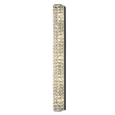 Светильник Lussole Lsl-8701-05Длинные<br>Хрустальный настенно-потолочный светильник Lussole Lsl-8701-05 станет настоящим украшением Вашего интерьера! Его можно использовать и в качестве подсветки на стене, и в качестве потолочного источника света для комнаты площадью до 10 кв.м. Лучи, попадая на множество хрустальных граней, отражаются в них и создают уникальное, «искрящееся» освещение, которое будет создавать вокруг себя атмосферу радости и праздника. Светильник прекрасно впишется в любую цветовую гамму, а чтобы интерьер выглядел «цельным» и уютным, рекомендуем дополнительно использовать другие хрустальные осветительные приборы – например, бра, настольную лампу и торшер.<br><br>S освещ. до, м2: 10<br>Тип лампы: галогенная / LED-светодиодная<br>Тип цоколя: G9<br>Количество ламп: 5<br>Ширина, мм: 710мм<br>MAX мощность ламп, Вт: 40<br>Выступ, мм: 90мм<br>Оттенок (цвет): Бесцветный<br>Цвет арматуры: серебристый