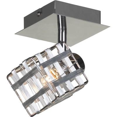 Светильник Lussole LSN-0801-01Одиночные<br>Светильники-споты – это оригинальные изделия с современным дизайном. Они позволяют не ограничивать свою фантазию при выборе освещения для интерьера. Такие модели обеспечивают достаточно качественный свет. Благодаря компактным размерам Вы можете использовать несколько спотов для одного помещения. <br>Интернет-магазин «Светодом» предлагает необычный светильник-спот Lussole LSN-0801-01 по привлекательной цене. Эта модель станет отличным дополнением к люстре, выполненной в том же стиле. Перед оформлением заказа изучите характеристики изделия. <br>Купить светильник-спот Lussole LSN-0801-01 в нашем онлайн-магазине Вы можете либо с помощью формы на сайте, либо по указанным выше телефонам. Обратите внимание, что у нас склады не только в Москве и Екатеринбурге, но и других городах России.<br><br>S освещ. до, м2: 2<br>Тип лампы: галогенная / LED-светодиодная<br>Тип цоколя: G9<br>Количество ламп: 1<br>Ширина, мм: 120<br>MAX мощность ламп, Вт: 40<br>Длина, мм: 100<br>Расстояние от стены, мм: 160<br>Цвет арматуры: серебристый