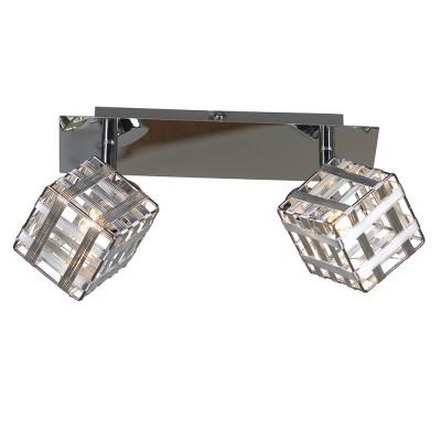Светильник Lussole LSN-0801-02Двойные<br>Светильники-споты – это оригинальные изделия с современным дизайном. Они позволяют не ограничивать свою фантазию при выборе освещения для интерьера. Такие модели обеспечивают достаточно качественный свет. Благодаря компактным размерам Вы можете использовать несколько спотов для одного помещения.  Интернет-магазин «Светодом» предлагает необычный светильник-спот Lussole LSN-0801-02 по привлекательной цене. Эта модель станет отличным дополнением к люстре, выполненной в том же стиле. Перед оформлением заказа изучите характеристики изделия.  Купить светильник-спот Lussole LSN-0801-02 в нашем онлайн-магазине Вы можете либо с помощью формы на сайте, либо по указанным выше телефонам. Обратите внимание, что у нас склады не только в Москве и Екатеринбурге, но и других городах России.<br><br>S освещ. до, м2: 5<br>Тип лампы: галогенная / LED-светодиодная<br>Тип цоколя: G9<br>Количество ламп: 2<br>Ширина, мм: 120<br>MAX мощность ламп, Вт: 40<br>Длина, мм: 260<br>Расстояние от стены, мм: 160<br>Цвет арматуры: серебристый