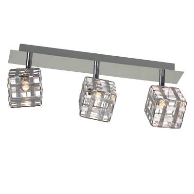 Светильник Lussole LSN-0801-03Тройные<br>Светильники-споты – это оригинальные изделия с современным дизайном. Они позволяют не ограничивать свою фантазию при выборе освещения для интерьера. Такие модели обеспечивают достаточно качественный свет. Благодаря компактным размерам Вы можете использовать несколько спотов для одного помещения.  Интернет-магазин «Светодом» предлагает необычный светильник-спот Lussole LSN-0801-03 по привлекательной цене. Эта модель станет отличным дополнением к люстре, выполненной в том же стиле. Перед оформлением заказа изучите характеристики изделия.  Купить светильник-спот Lussole LSN-0801-03 в нашем онлайн-магазине Вы можете либо с помощью формы на сайте, либо по указанным выше телефонам. Обратите внимание, что у нас склады не только в Москве и Екатеринбурге, но и других городах России.<br><br>S освещ. до, м2: 8<br>Тип лампы: галогенная / LED-светодиодная<br>Тип цоколя: G9<br>Количество ламп: 3<br>Ширина, мм: 120<br>MAX мощность ламп, Вт: 40<br>Длина, мм: 400<br>Расстояние от стены, мм: 160<br>Цвет арматуры: серебристый