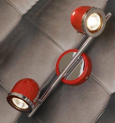 Светильник Lussole LSN-3101-02Двойные<br>Светильники-споты – это оригинальные изделия с современным дизайном. Они позволяют не ограничивать свою фантазию при выборе освещения для интерьера. Такие модели обеспечивают достаточно качественный свет. Благодаря компактным размерам Вы можете использовать несколько спотов для одного помещения.  Интернет-магазин «Светодом» предлагает необычный светильник-спот Lussole LSN-3101-02 по привлекательной цене. Эта модель станет отличным дополнением к люстре, выполненной в том же стиле. Перед оформлением заказа изучите характеристики изделия.  Купить светильник-спот Lussole LSN-3101-02 в нашем онлайн-магазине Вы можете либо с помощью формы на сайте, либо по указанным выше телефонам. Обратите внимание, что мы предлагаем доставку не только по Москве и Екатеринбургу, но и всем остальным российским городам.<br><br>S освещ. до, м2: 6<br>Тип лампы: галогенная / LED-светодиодная<br>Тип цоколя: Gu10<br>Количество ламп: 2<br>Ширина, мм: 110<br>MAX мощность ламп, Вт: 50<br>Длина, мм: 370<br>Расстояние от стены, мм: 190<br>Цвет арматуры: серебристый