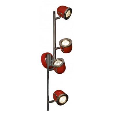 Светильник Lussole LSN-3109-04С 4 лампами<br>Светильники-споты – это оригинальные изделия с современным дизайном. Они позволяют не ограничивать свою фантазию при выборе освещения для интерьера. Такие модели обеспечивают достаточно качественный свет. Благодаря компактным размерам Вы можете использовать несколько спотов для одного помещения.  Интернет-магазин «Светодом» предлагает необычный светильник-спот Lussole LSN-3109-04 по привлекательной цене. Эта модель станет отличным дополнением к люстре, выполненной в том же стиле. Перед оформлением заказа изучите характеристики изделия.  Купить светильник-спот Lussole LSN-3109-04 в нашем онлайн-магазине Вы можете либо с помощью формы на сайте, либо по указанным выше телефонам. Обратите внимание, что у нас склады не только в Москве и Екатеринбурге, но и других городах России.<br><br>S освещ. до, м2: 13<br>Тип лампы: галогенная / LED-светодиодная<br>Тип цоколя: Gu10<br>Количество ламп: 4<br>Ширина, мм: 110<br>MAX мощность ламп, Вт: 50<br>Длина, мм: 720<br>Расстояние от стены, мм: 190