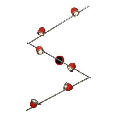 Светильник Lussole LSN-3109-06Более 5 ламп<br>Светильники-споты – это оригинальные изделия с современным дизайном. Они позволяют не ограничивать свою фантазию при выборе освещения для интерьера. Такие модели обеспечивают достаточно качественный свет. Благодаря компактным размерам Вы можете использовать несколько спотов для одного помещения.  Интернет-магазин «Светодом» предлагает необычный светильник-спот Lussole LSN-3109-06 по привлекательной цене. Эта модель станет отличным дополнением к люстре, выполненной в том же стиле. Перед оформлением заказа изучите характеристики изделия.  Купить светильник-спот Lussole LSN-3109-06 в нашем онлайн-магазине Вы можете либо с помощью формы на сайте, либо по указанным выше телефонам. Обратите внимание, что у нас склады не только в Москве и Екатеринбурге, но и других городах России.<br><br>S освещ. до, м2: 20<br>Тип лампы: галогенная / LED-светодиодная<br>Тип цоколя: Gu10<br>Цвет арматуры: серебристый<br>Количество ламп: 6<br>Ширина, мм: 110<br>Длина, мм: 2370<br>Расстояние от стены, мм: 190<br>MAX мощность ламп, Вт: 50