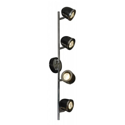 Светильник поворотный спот Lussole LSN-3129-04 TIVOLIС 4 лампами<br>Светильники-споты – это оригинальные изделия с современным дизайном. Они позволяют не ограничивать свою фантазию при выборе освещения для интерьера. Такие модели обеспечивают достаточно качественный свет. Благодаря компактным размерам Вы можете использовать несколько спотов для одного помещения.  Интернет-магазин «Светодом» предлагает необычный светильник-спот Lussole LSN-3129-04 по привлекательной цене. Эта модель станет отличным дополнением к люстре, выполненной в том же стиле. Перед оформлением заказа изучите характеристики изделия.  Купить светильник-спот Lussole LSN-3129-04 в нашем онлайн-магазине Вы можете либо с помощью формы на сайте, либо по указанным выше телефонам. Обратите внимание, что у нас склады не только в Москве и Екатеринбурге, но и других городах России.<br><br>S освещ. до, м2: 13<br>Тип лампы: галогенная / LED-светодиодная<br>Тип цоколя: Gu10<br>Количество ламп: 4<br>Ширина, мм: 110<br>Длина, мм: 720<br>Расстояние от стены, мм: 190<br>MAX мощность ламп, Вт: 50