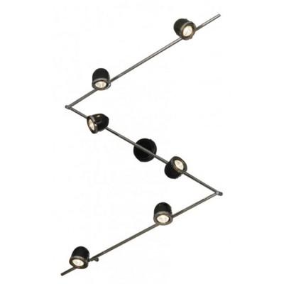 Светильник Lussole LSN-3129-06Более 5 ламп<br>Светильники-споты – это оригинальные изделия с современным дизайном. Они позволяют не ограничивать свою фантазию при выборе освещения для интерьера. Такие модели обеспечивают достаточно качественный свет. Благодаря компактным размерам Вы можете использовать несколько спотов для одного помещения.  Интернет-магазин «Светодом» предлагает необычный светильник-спот Lussole LSN-3129-06 по привлекательной цене. Эта модель станет отличным дополнением к люстре, выполненной в том же стиле. Перед оформлением заказа изучите характеристики изделия.  Купить светильник-спот Lussole LSN-3129-06 в нашем онлайн-магазине Вы можете либо с помощью формы на сайте, либо по указанным выше телефонам. Обратите внимание, что у нас склады не только в Москве и Екатеринбурге, но и других городах России.<br><br>S освещ. до, м2: 20<br>Тип лампы: галогенная / LED-светодиодная<br>Тип цоколя: Gu10<br>Количество ламп: 6<br>Ширина, мм: 110<br>MAX мощность ламп, Вт: 50<br>Длина, мм: 2370<br>Расстояние от стены, мм: 190<br>Цвет арматуры: серебристый