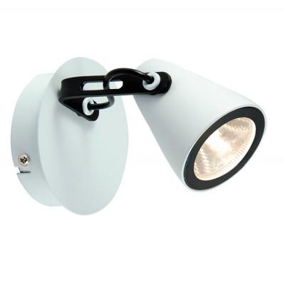 Светильник LOFT LSN-4101-01Одиночные<br><br><br>Тип лампы: LED<br>Тип цоколя: LED<br>Ширина, мм: 100<br>MAX мощность ламп, Вт: 5<br>Расстояние от стены, мм: 160<br>Высота, мм: 110<br>Цвет арматуры: белый