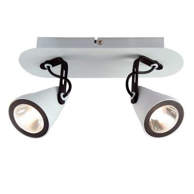 Светильник LOFT LSN-4101-02Двойные<br>Светильники-споты – это оригинальные изделия с современным дизайном. Они позволяют не ограничивать свою фантазию при выборе освещения для интерьера. Такие модели обеспечивают достаточно качественный свет. Благодаря компактным размерам Вы можете использовать несколько спотов для одного помещения.  Интернет-магазин «Светодом» предлагает необычный светильник-спот Loft LSN-4101-02 по привлекательной цене. Эта модель станет отличным дополнением к люстре, выполненной в том же стиле. Перед оформлением заказа изучите характеристики изделия.  Купить светильник-спот Loft LSN-4101-02 в нашем онлайн-магазине Вы можете либо с помощью формы на сайте, либо по указанным выше телефонам. Обратите внимание, что у нас склады не только в Москве и Екатеринбурге, но и других городах России.<br><br>Тип лампы: LED<br>Тип цоколя: LED<br>Количество ламп: 2<br>Ширина, мм: 250<br>MAX мощность ламп, Вт: 5<br>Длина, мм: 80<br>Высота, мм: 160<br>Цвет арматуры: белый