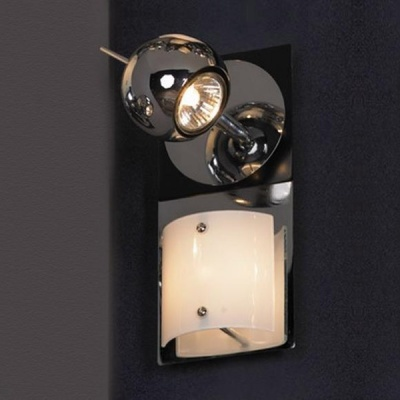 Светильник поворотный спот Lussole LSN-4601-02 TICINOдвойные светильники споты<br>Светильники-споты – это оригинальные изделия с современным дизайном. Они позволяют не ограничивать свою фантазию при выборе освещения для интерьера. Такие модели обеспечивают достаточно качественный свет. Благодаря компактным размерам Вы можете использовать несколько спотов для одного помещения.  Интернет-магазин «Светодом» предлагает необычный светильник-спот Lussole LSN-4601-02 по привлекательной цене. Эта модель станет отличным дополнением к люстре, выполненной в том же стиле. Перед оформлением заказа изучите характеристики изделия.  Купить светильник-спот Lussole LSN-4601-02 в нашем онлайн-магазине Вы можете либо с помощью формы на сайте, либо по указанным выше телефонам. Обратите внимание, что у нас склады не только в Москве и Екатеринбурге, но и других городах России.<br><br>S освещ. до, м2: 7<br>Тип лампы: галогенная / LED-светодиодная<br>Тип цоколя: G9+GU10<br>Цвет арматуры: серебристый<br>Количество ламп: 1+1<br>Ширина, мм: 11<br>Длина, мм: 24<br>Расстояние от стены, мм: 15<br>MAX мощность ламп, Вт: 40+50