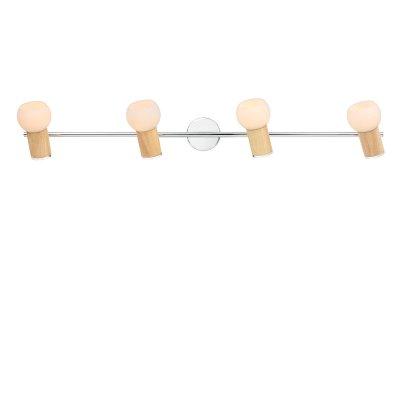 Светильник Lussole lsn-6009-04С 4 лампами<br>Светильники-споты – это оригинальные изделия с современным дизайном. Они позволяют не ограничивать свою фантазию при выборе освещения для интерьера. Такие модели обеспечивают достаточно качественный свет. Благодаря компактным размерам Вы можете использовать несколько спотов для одного помещения.  Интернет-магазин «Светодом» предлагает необычный светильник-спот Lussole LSN-6009-04 по привлекательной цене. Эта модель станет отличным дополнением к люстре, выполненной в том же стиле. Перед оформлением заказа изучите характеристики изделия.  Купить светильник-спот Lussole LSN-6009-04 в нашем онлайн-магазине Вы можете либо с помощью формы на сайте, либо по указанным выше телефонам. Обратите внимание, что у нас склады не только в Москве и Екатеринбурге, но и других городах России.<br><br>S освещ. до, м2: 11<br>Крепление: накладной<br>Тип лампы: накал-я - энергосбер-я<br>Тип цоколя: E14cs<br>Количество ламп: 4<br>Ширина, мм: 140<br>MAX мощность ламп, Вт: 40<br>Длина, мм: 880<br>Высота, мм: 200<br>Цвет арматуры: серебристый