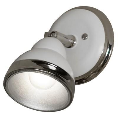 Светильник Lussole LSN-6201-01Одиночные<br>Светильники-споты – это оригинальные изделия с современным дизайном. Они позволяют не ограничивать свою фантазию при выборе освещения для интерьера. Такие модели обеспечивают достаточно качественный свет. Благодаря компактным размерам Вы можете использовать несколько спотов для одного помещения.  Интернет-магазин «Светодом» предлагает необычный светильник-спот Loft LSN-6201-01 по привлекательной цене. Эта модель станет отличным дополнением к люстре, выполненной в том же стиле. Перед оформлением заказа изучите характеристики изделия.  Купить светильник-спот Loft LSN-6201-01 в нашем онлайн-магазине Вы можете либо с помощью формы на сайте, либо по указанным выше телефонам. Обратите внимание, что у нас склады не только в Москве и Екатеринбурге, но и других городах России.<br><br>S освещ. до, м2: 2<br>Тип лампы: Накаливания / энергосбережения / светодиодная<br>Тип цоколя: E14<br>Цвет арматуры: серебристый<br>Количество ламп: 1<br>Ширина, мм: 190<br>Длина, мм: 120<br>Высота, мм: 190<br>MAX мощность ламп, Вт: 40
