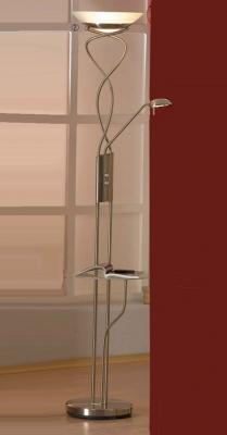 Торшер со столиком Lussole LSN-8935-02 ComfortСо столиком<br>торшер со столиком стеклянным (прозрачным), который может убираться при необходимости. Все лампы диммируются, не смотря на большую мощность ламп.<br><br>S освещ. до, м2: 25<br>Тип товара: Светильник напольный торшер<br>Скидка, %: 29<br>Тип лампы: галогенная / LED-светодиодная<br>Тип цоколя: R7S/GY6,35<br>Количество ламп: 01.янв<br>MAX мощность ламп, Вт: 300/50<br>Диаметр, мм мм: 330<br>Высота, мм: 1820<br>Оттенок (цвет): белый<br>Цвет арматуры: серый