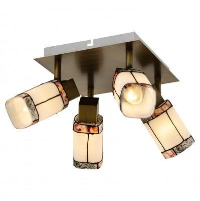 Светильник LOFT lsp-0221С 4 лампами<br>Светильники-споты – это оригинальные изделия с современным дизайном. Они позволяют не ограничивать свою фантазию при выборе освещения для интерьера. Такие модели обеспечивают достаточно качественный свет. Благодаря компактным размерам Вы можете использовать несколько спотов для одного помещения. <br>Интернет-магазин «Светодом» предлагает необычный светильник-спот Loft lsp-0221 по привлекательной цене. Эта модель станет отличным дополнением к люстре, выполненной в том же стиле. Перед оформлением заказа изучите характеристики изделия. <br>Купить светильник-спот Loft lsp-0221 в нашем онлайн-магазине Вы можете либо с помощью формы на сайте, либо по указанным выше телефонам. Обратите внимание, что у нас склады не только в Москве и Екатеринбурге, но и других городах России.<br><br>S освещ. до, м2: 8<br>Тип лампы: Накаливания / энергосбережения / светодиодная<br>Тип цоколя: E14<br>Количество ламп: 4<br>Ширина, мм: 360<br>Длина, мм: 360<br>Высота, мм: 120<br>MAX мощность ламп, Вт: 40