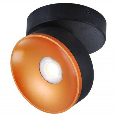 Светильник Loft LSP-8017одиночные споты<br>Светильник Loft LSP-8017 отличается поворотной способностью регулировки светового потока и сделает Ваше помещение современным, стильным и запоминающимся! Наиболее функционально и эстетически привлекательно модель будет смотреться в гостиной, зале, холле или другой комнате. А в комплекте с люстрой, бра или торшером из этой же коллекции сделает интерьер по-дизайнерски профессиональным и законченным.
