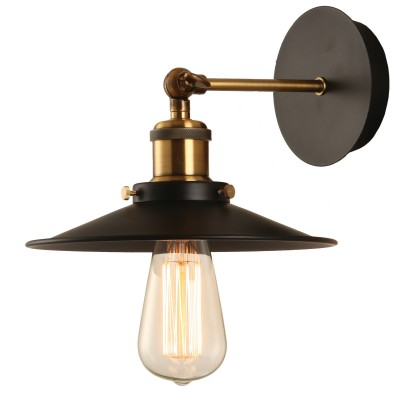 Светильник Loft LSP-9100Лофт<br>В интернет-магазине «Светодом» представлен широкий выбор настенных бра по привлекательной цене. Это качественные товары от популярных мировых производителей. Благодаря большому ассортименту Вы обязательно подберете под свой интерьер наиболее подходящий вариант.  Оригинальное настенное бра Loft Loft LSP-9100 можно использовать для освещения не только гостиной, но и прихожей или спальни. Модель выполнена из современных материалов, поэтому прослужит на протяжении долгого времени. Обратите внимание на технические характеристики, чтобы сделать правильный выбор.  Чтобы купить настенное бра Loft Loft LSP-9100 в нашем интернет-магазине, воспользуйтесь «Корзиной» или позвоните менеджерам компании «Светодом» по указанным на сайте номерам. Мы доставляем заказы по Москве, Екатеринбургу и другим российским городам.<br><br>S освещ. до, м2: 1<br>Тип лампы: накаливания / энергосбережения / LED-светодиодная<br>Тип цоколя: E27<br>Количество ламп: 1<br>Ширина, мм: 220<br>MAX мощность ламп, Вт: 60<br>Расстояние от стены, мм: 250<br>Высота, мм: 220<br>Цвет арматуры: черный